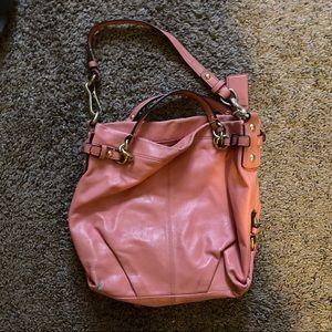 Coach leather handbag 9.00